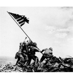 raising flag Iwo Jima